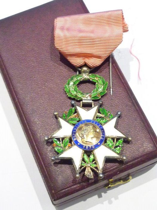 Frankrijk - Legion of Honor 1870 Elite (G3) Army Infantry - Medaille - 1900