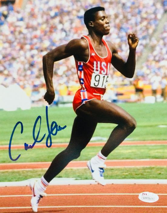 USA - Athlétisme - Carl Lewis - Photo