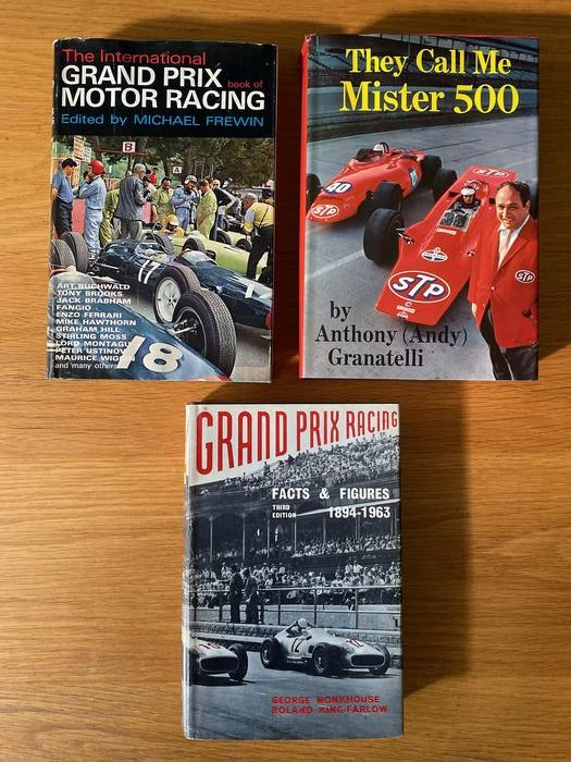Livres - Grand Prix Facts & Figures They Call me Mister 500 Interational Grand Prix Motor Racing  - 1960-1970