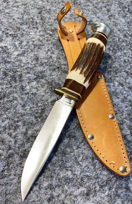 Allemagne - German Hunting Knife CARL SCHLIEPER SOLINGEN - 1960/70s - Mint Condition - Hunting - Couteau