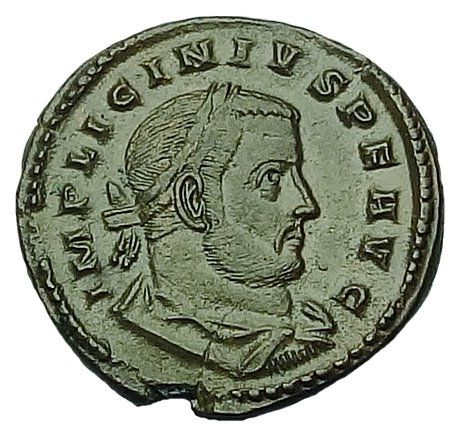 Romeinse Rijk - AE Follis, Licinius I (C, 316 AD) - Trier Mint - BOURTON ON THE WATER HOARD