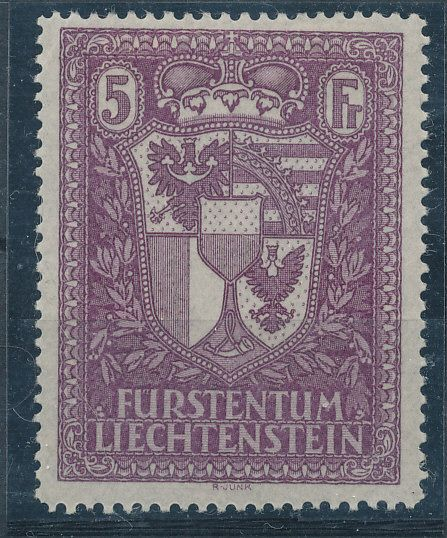 Liechtenstein 1935 - National coat of arms 121