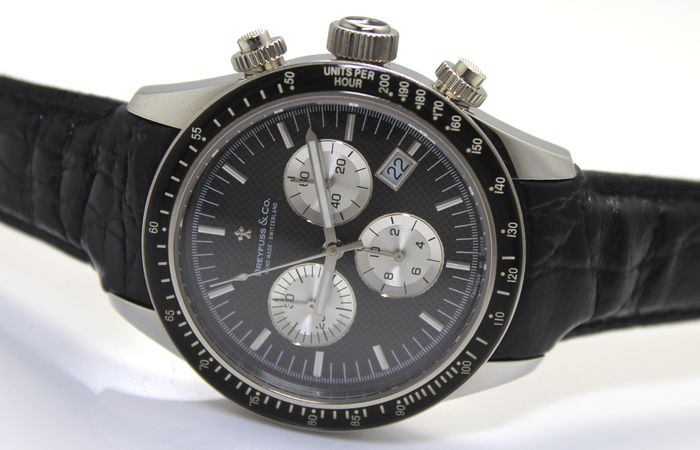 "Dreyfuss & Co. - Swiss Made ""NO RESERVE PRICE"" - Chronograph Limited Edition - Heren - 2011-heden"