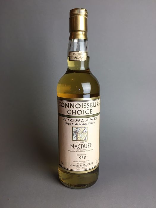Macduff 1989 18 years old Connoisseurs Choice - Gordon & McPhail - b. 2007 - 700 ml