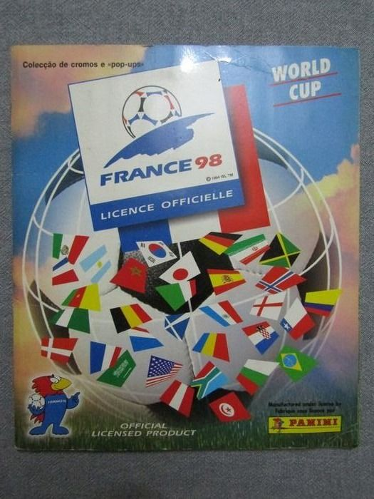Panini - Compleet album World Cup France 98