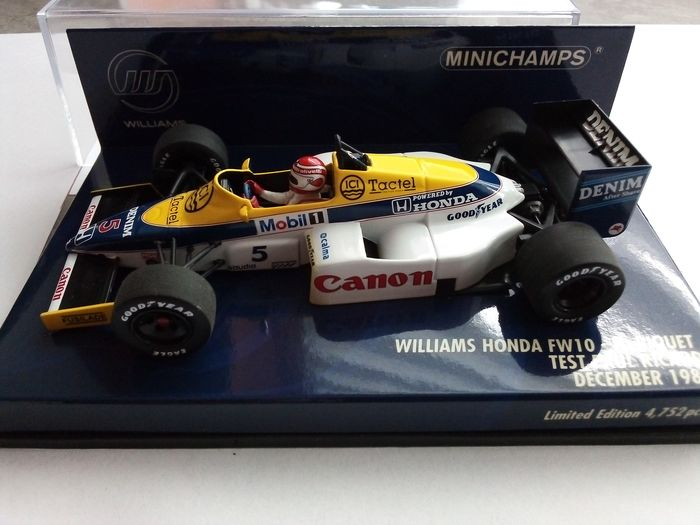 MiniChamps - 1:43 - Williams FW 10 Piquet