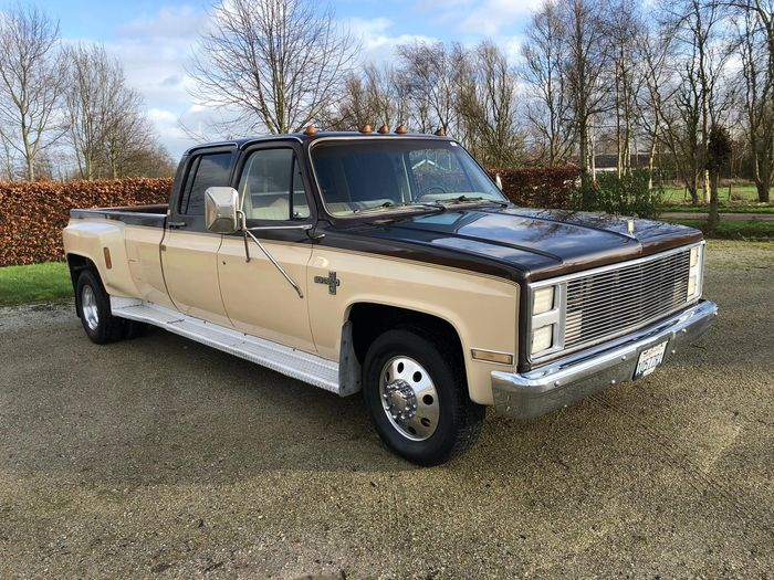 Chevrolet - C30 crewcab dually pick-up - 1985