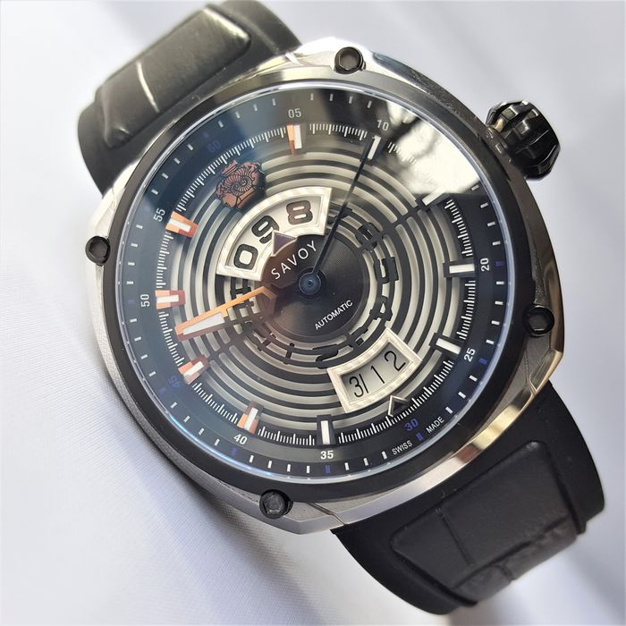 Savoy - Swiss Made Automatic Limited Edition #38/200 Epic Continuous Hour Sapphire - F1703H.02D.RB01 - Herren - 2020 - New
