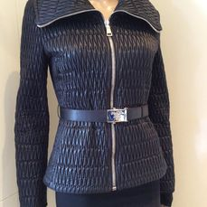 Prada - Coat, Jacket and belt