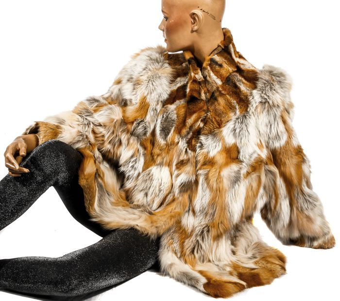 Rotfuchs Mantel  - Fox fur, Fur - Fur coat - Made in: Germany