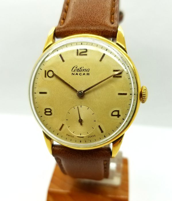 Certina - Nacar little second - cal. KF 320 - Herren - 1950-1959