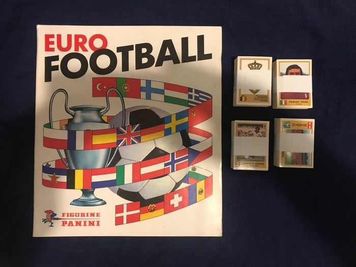 Panini - Euro Football 76 - Leeg album + complete losse stickerset