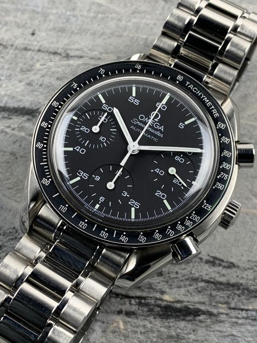 """Omega - Speedmaster Reduced Chronograph Automatic - 3510.50.00 - """"NO RESERVE PRICE""""  - Heren - 1990-1999"""