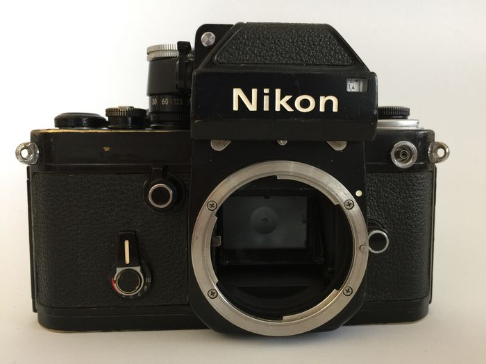 Nikon F2 Black Body Photomic DP-1