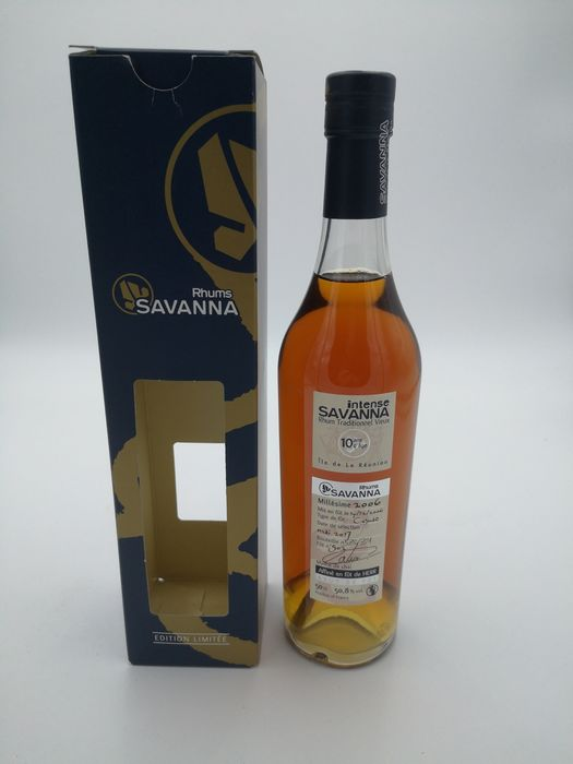 Savanna 2006 10 years old - Affiné en Fût de HERR - 50 cl