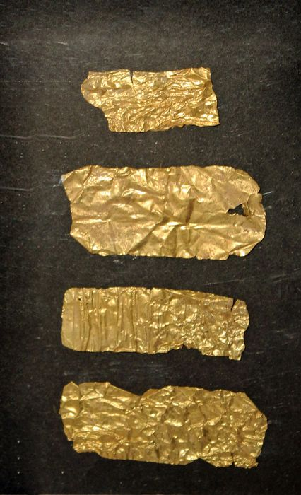 Ancient Greek, Hellenistic Gold An Ancient Greek, High Carat sheet gold group.
