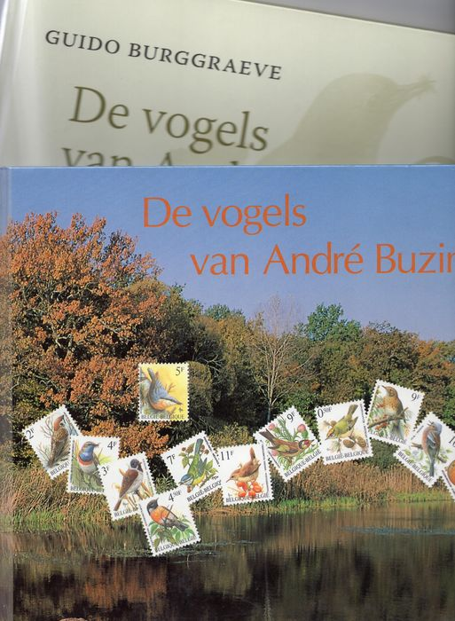 Bélgica - Book 1 and 2 by Buzin With stamps - OBP / COB