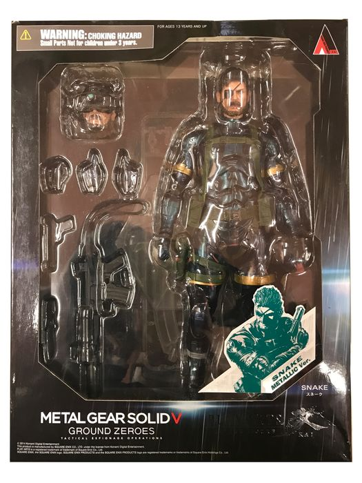 Square Enix METAL GEAR SOLID V GROUND ZEROES Play Arts Kai Snake Metallic Ver.