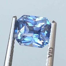 1 pcs  Saffier - 1.65 ct