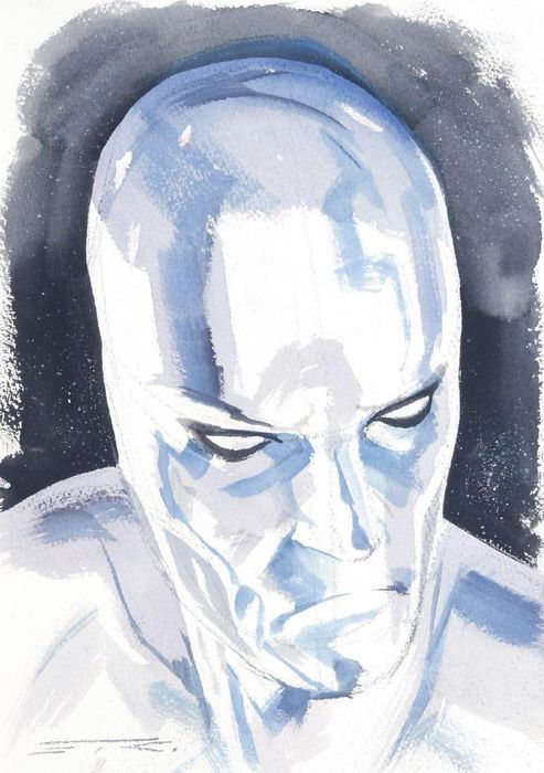 The Silver Surfer - Ribic, Esad - Original art  - Eerste druk - (2018)