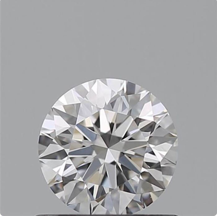 Diamond - 0.59 ct - Brilliant - E - VVS1