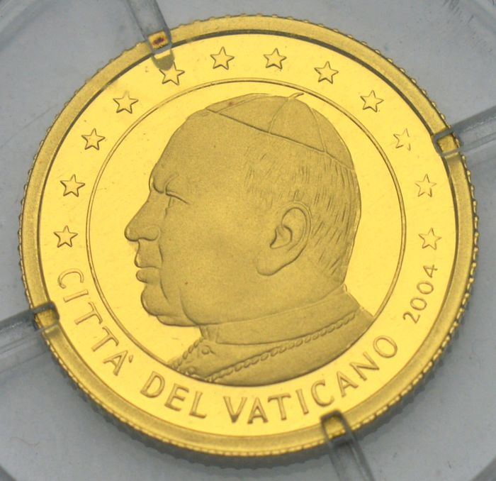Ilhas Marianas do Norte - 5 Dollars 2004 Vatican - Ouro