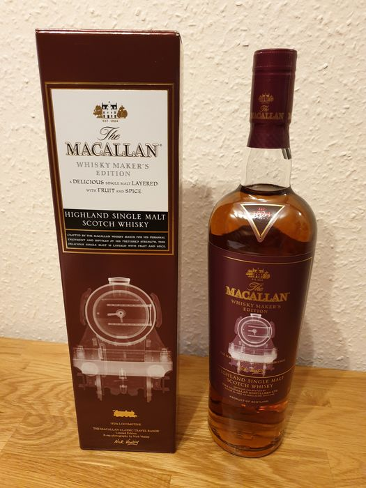 Macallan Maker's Edition 1920s Locomotive - Original bottling - 700ml