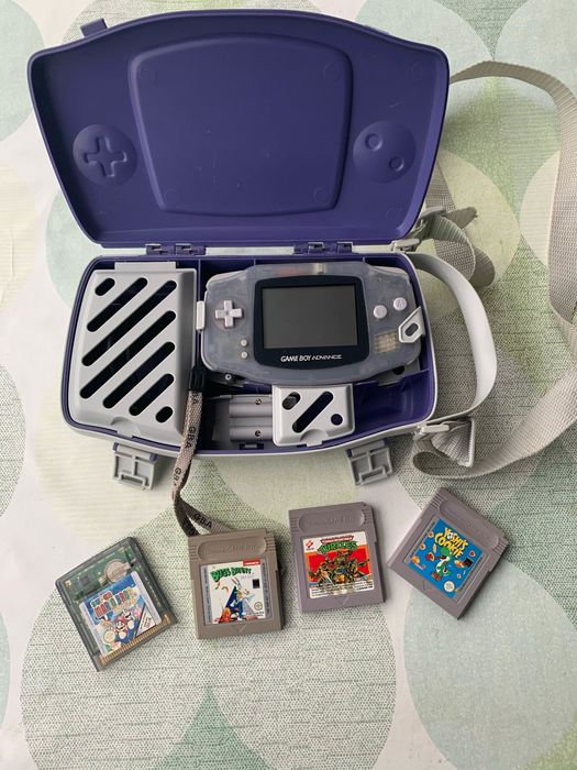 Nintendo Gameboy Advance - Gameboy whit games - Con caja de repuesto