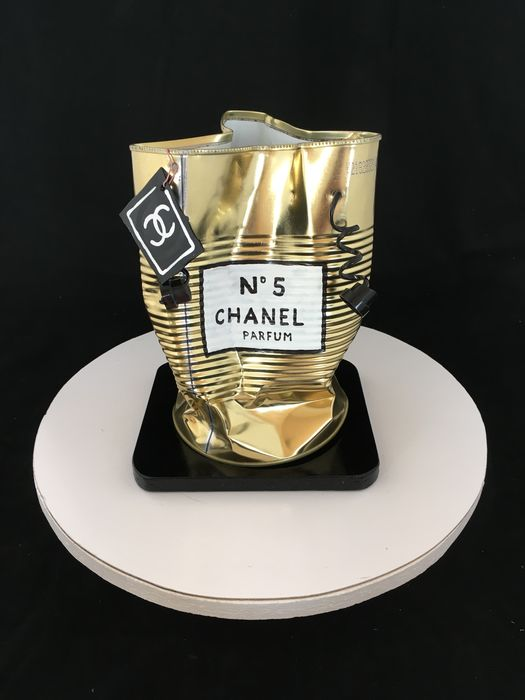 Norman Gekko - Chanel N.5 Gold Bag
