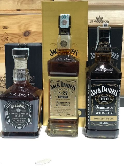 Jack Daniels single barrel select empty bottle 70cl
