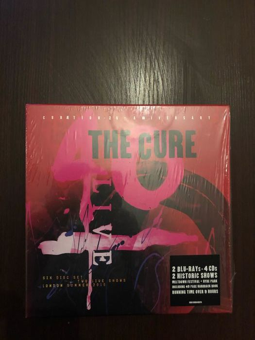 The Cure - 40 Live (Curætion-25 + Anniversary) - Box set - 2019/2019
