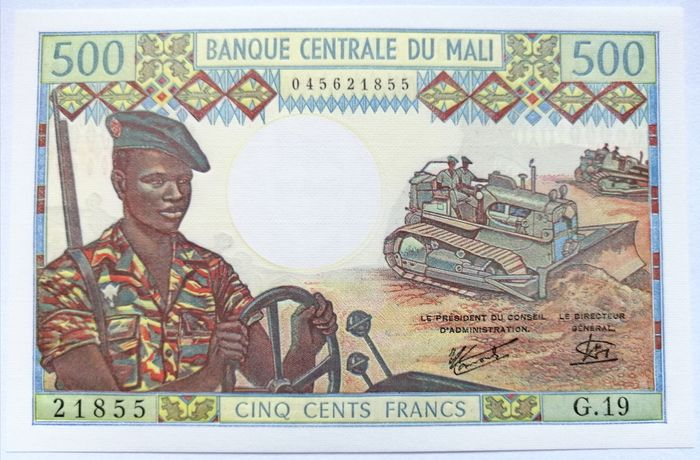 Mali - 500 Francs ND (1973-1984) - Pick 12e