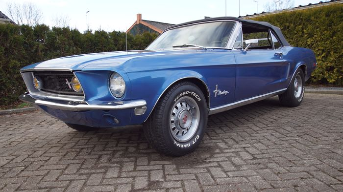 Ford - Mustang Convertible V8 Automaat - 1968