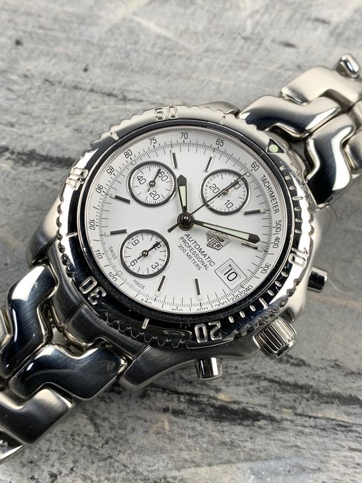 TAG Heuer - Link Chronograph - CT2112 - Heren - 2000-2010