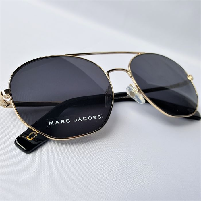 Marc Jacobs - Aviator Pilot Hexagon Gold Handmade - 2020 - New - Made in Italy Sunglasses