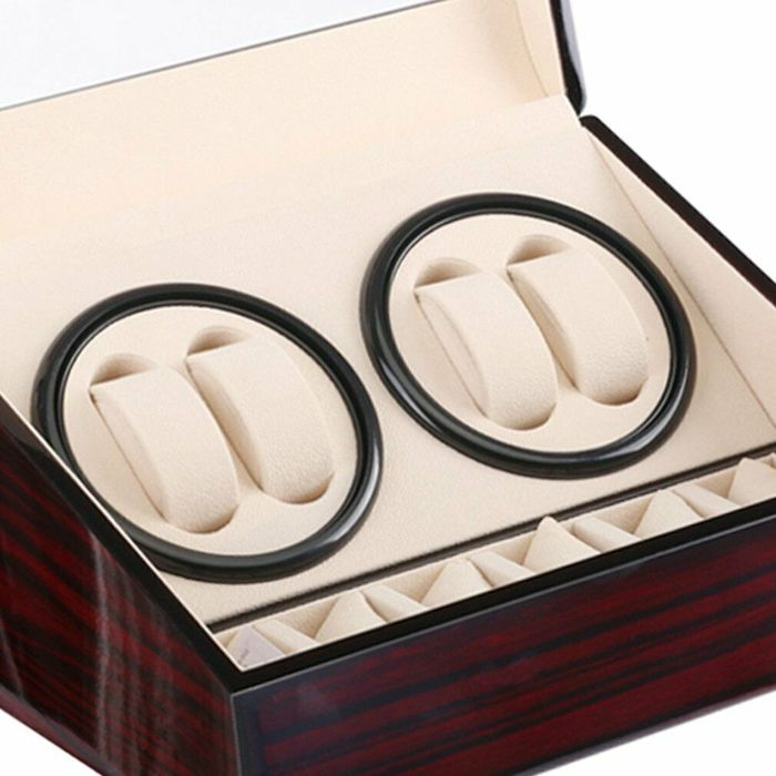 Image 3 of Luxurious - Case box for 6 watches + 4 watch winder - 2011-present