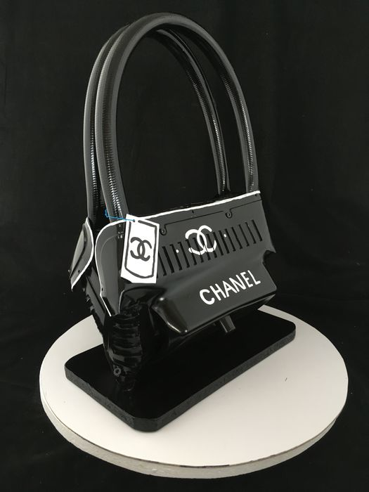Norman Gekko - Crushed Chanel black and white
