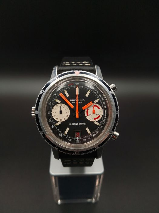 "Breitling - CHRONO-MATIC ""NO RESERVE PRICE"" - Ref: 2110 - Heren - 1970-1979"