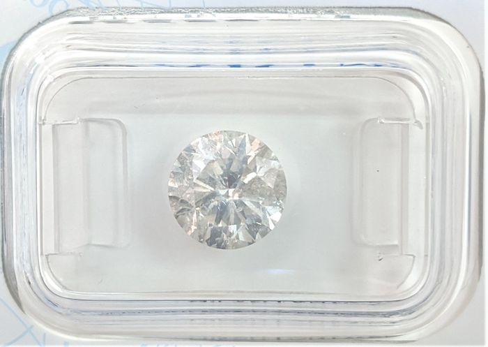 Diamant - 2.07 ct - Briljant - H - P1, No Reserve Price