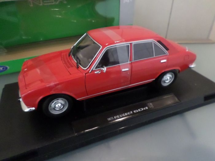 Welly - 1:18 - Peugeot 504 /// 1975