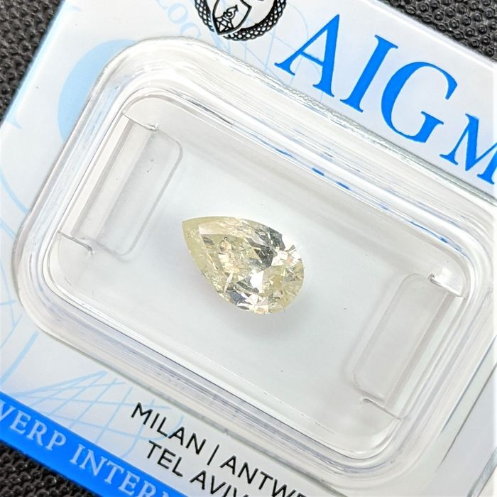 Diamant - 1.04 ct - Peer - fancy yellow - SI3, No Reserve Price
