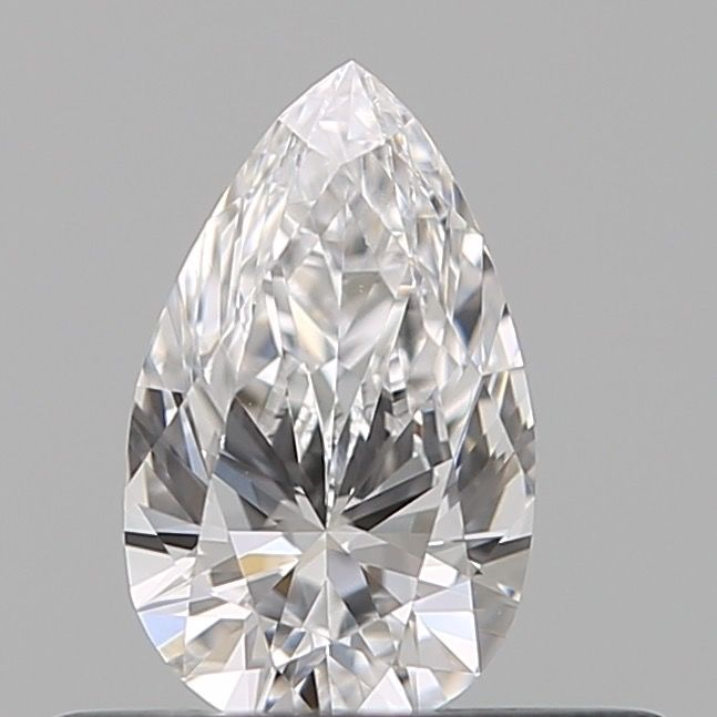 1 pcs Diamant - 0.31 ct - Peer - D (kleurloos) - VVS2, ***no reserve***