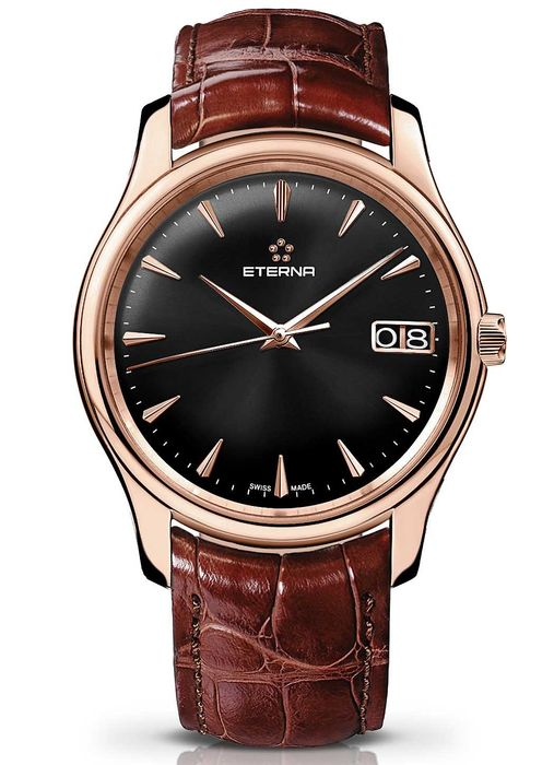Eterna - Vaughan Big Date - 7630.69.51.1185 - Heren - 2011-heden