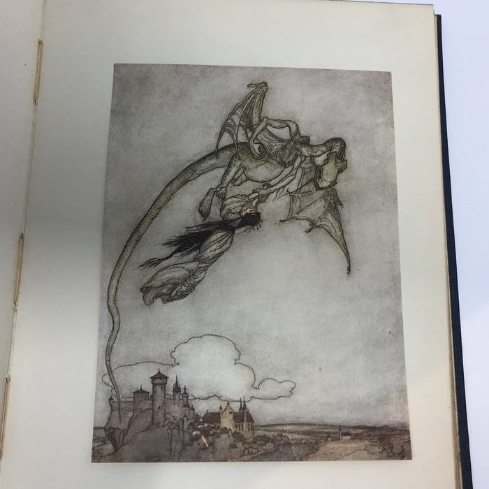 Grimm / Arthur Rackham  - Snowdrop & Other Tales by the Brothers Grimm - 1920