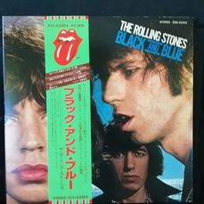 Rolling Stones - Black And Blue - Album LP - 1979/1979