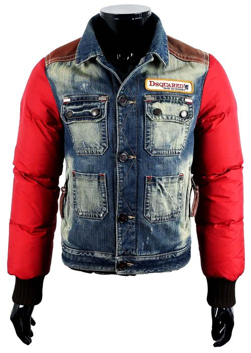 Dsquared2 - Bomber Jacket - Size: IT48/50 - Maat M