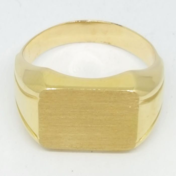 18 kt. Yellow gold - Ring