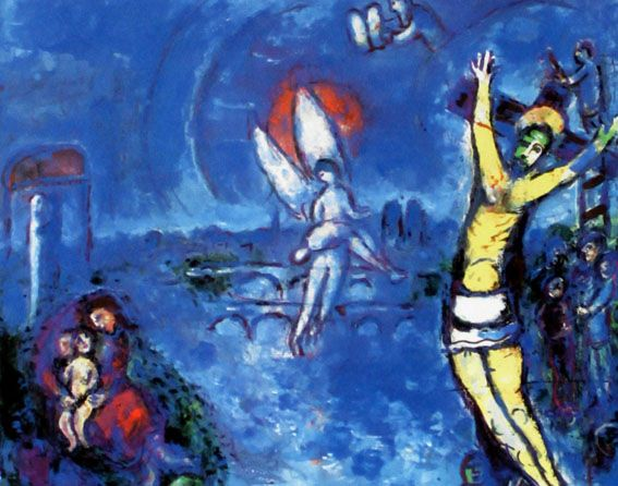Marc Chagall (after) - Kreuzigung