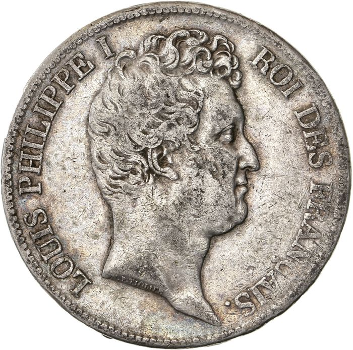 France - 5 Francs 1831-I Louis Philippe I - Silver