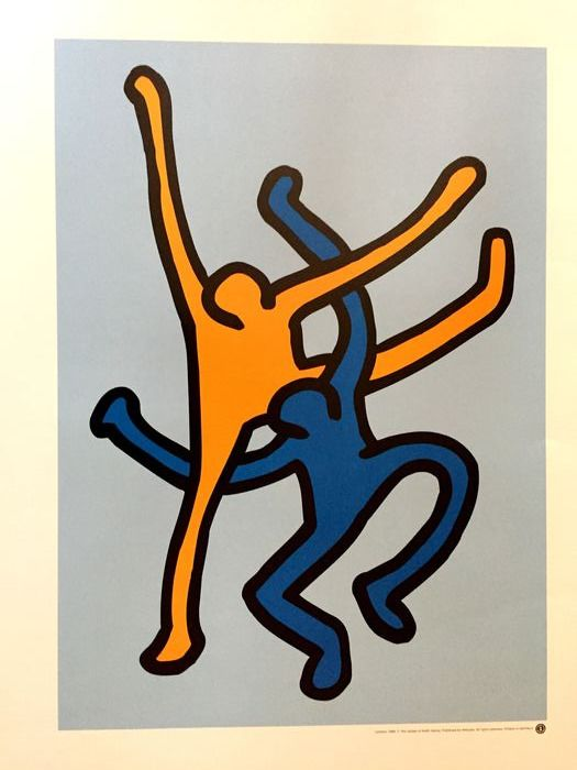 Keith Haring (after)  - Untitled - 1989